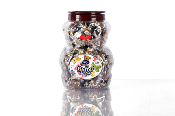 Butter Scotch Teddy Jar