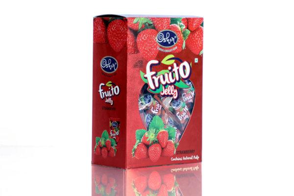 Fruito Strawberry Jelly Box