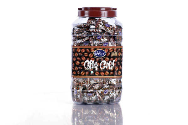Coffee Gold Jar